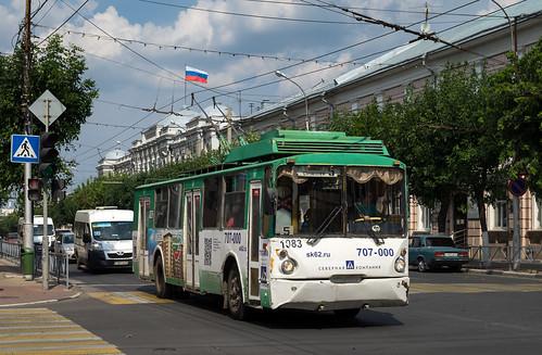 Ryazan trolleybus: VZTM-5284 # 1083