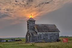 Steeple Sunset-North Dakota