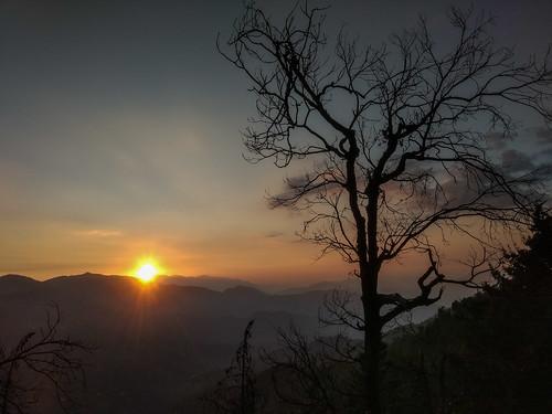 dusk india natureandenvironment sitla subject sunset uttarakhand uttaranchal what