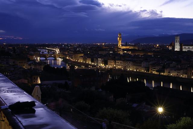 Firenze after thunderstorm