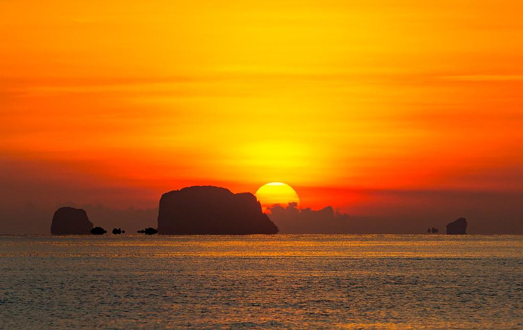 Amazing view of Phang Nga Bay