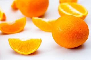 Oranges on a White Background | by wuestenigel