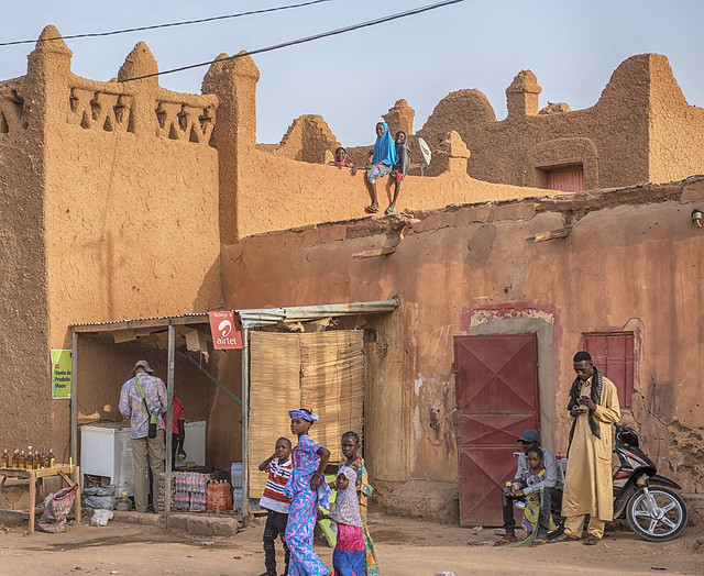 In the streets of Agadez