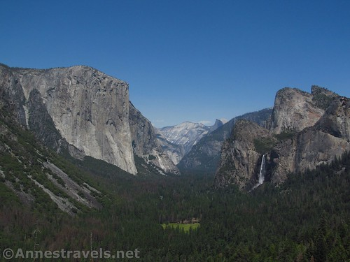 Yosemite Valley from Artist Point, Yosemite National Park, California