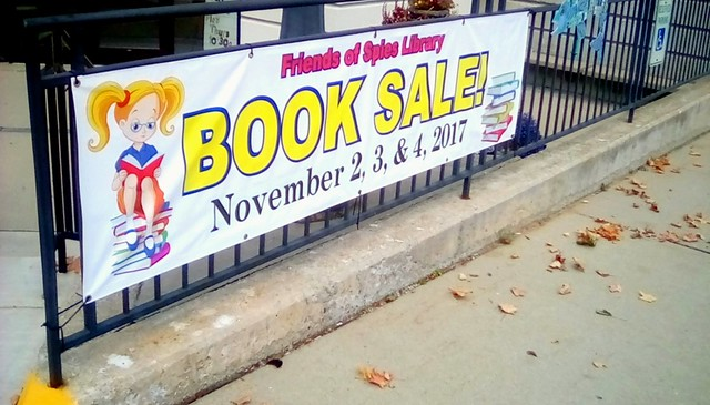 Library book sale - SS