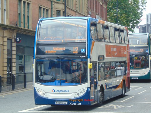 19380 Stagecoach In Newcastle Service 12 | by Stealth: 5307, 5332