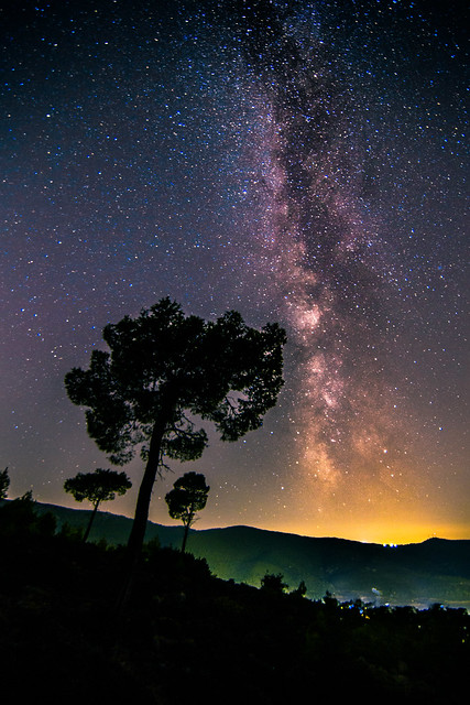 Reaching the end of the Milky Way season for this year.