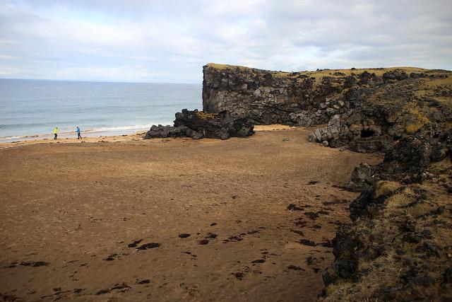 Skarðsvík Beach