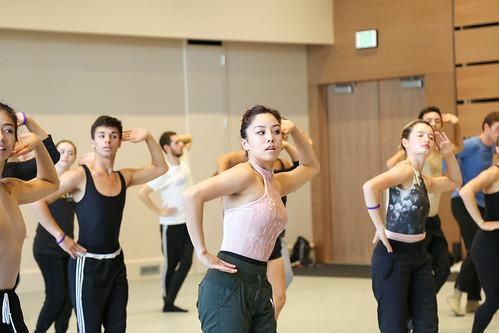 BFA student Meghan Yamashita in Matthew Bourne master class