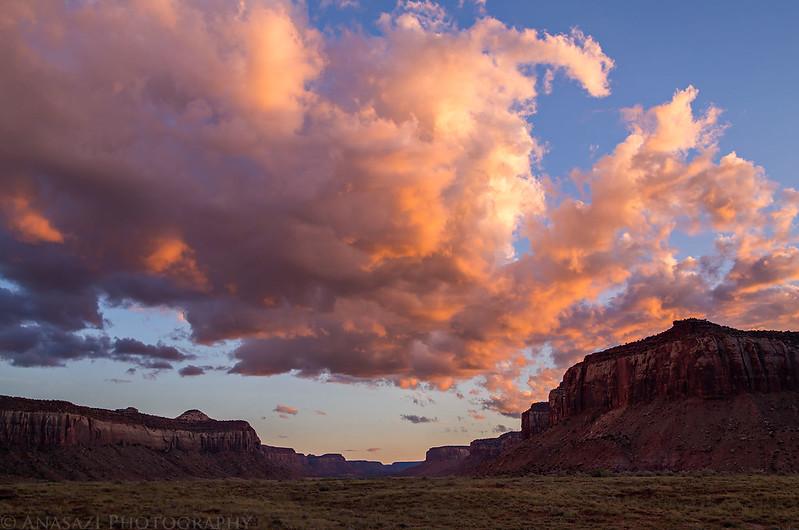 Cottonwood Canyon Sunset