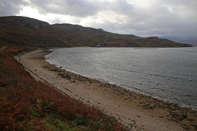 Camas an Duin on Loch Eriboll