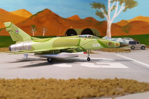 F-100D Super Sabre Equatorial Guinea 3   by fredmaillardet