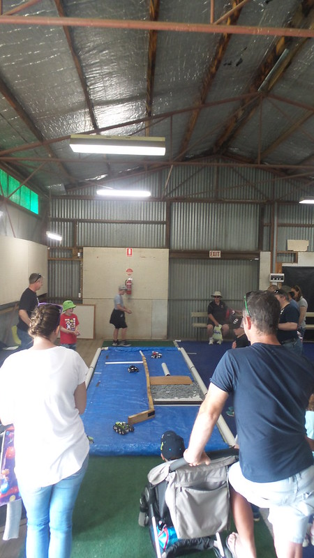 RC challenge track at Bendigo Ag Show 17