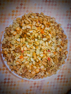 Moroccan salty snacks :