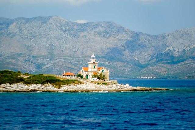 Croatian ighthouse