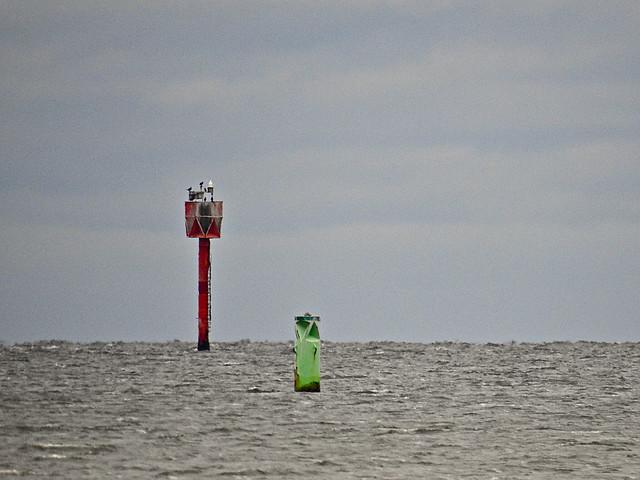 Beacons at sea