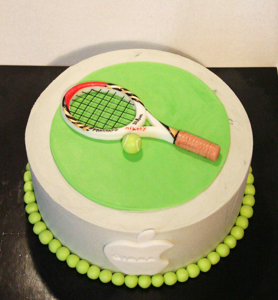 Tennis Cake A Photo On Flickriver