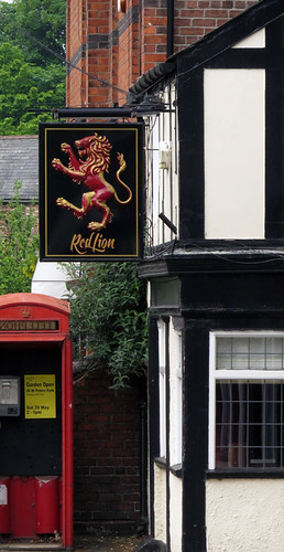 Red Lion Pub in Northup, Wales