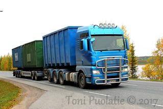 Kuljetus Pulju Ky LNZ-513 | by puolatie95