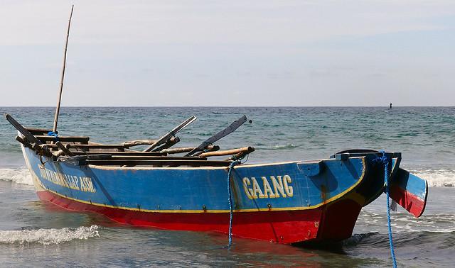 Fishing boat Philippines.