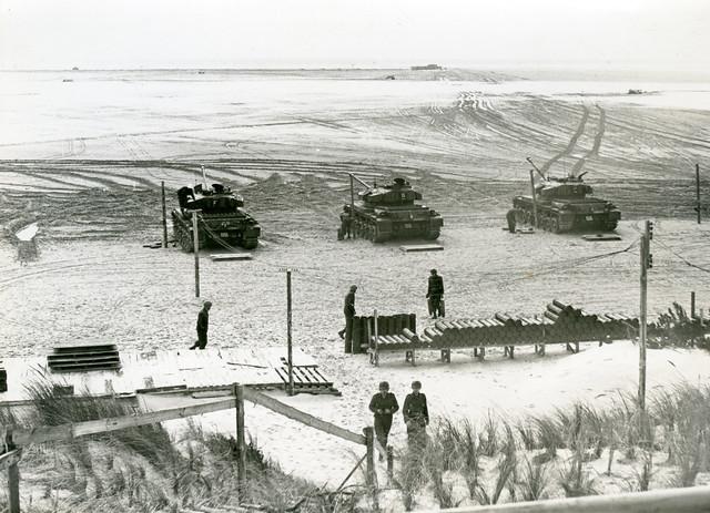 Vlieland - Cavalerie Schiet Kamp - 1959