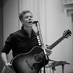Wed, 20/09/2017 - 5:56am - Josh Ritter and his band perform for a WFUV Public Radio broadcast at Gibson Guitar Studios in New York City, 9/20/17. Hosted by Rita Houston. Photo by Gus Philippas/WFUV