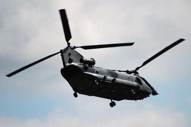 RAF Chinook ZH875