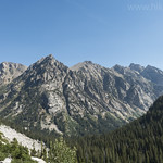 Forks of Cascade Canyon