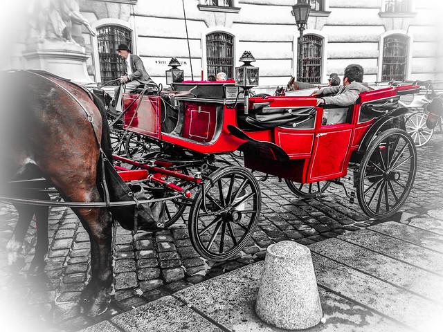 Ready for a ride through Vienna