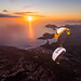 Wing landing with Jim Nougarolles & Maxime Chiron by Tristan Shu