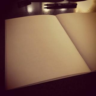 notebook, pen | by tonyhall
