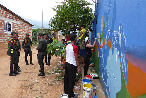 "UNVMC Participates in ""Paint Your Voice"" Event in Colombia 