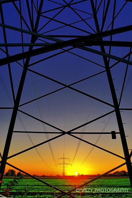 Sunset in Powerpylon