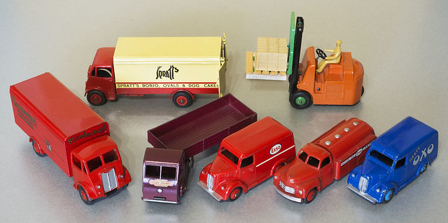 Dinky Toys 1940s and 50s Delivery Vans