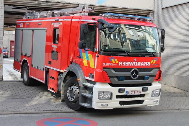 Autopomp Brandweer Aalst