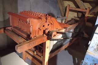 1900 Andreas Glas Dreschmaschine