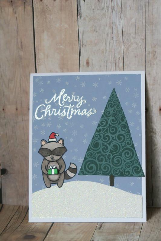 Raccoon Christmas - Version 2