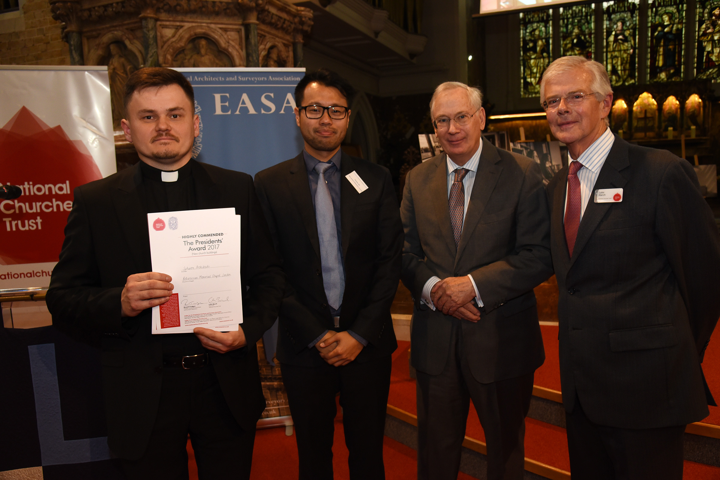 The Belarusian Memorial Chapel and Spheron Architects, Highly Commended for the Presidents' Award for new church buildings