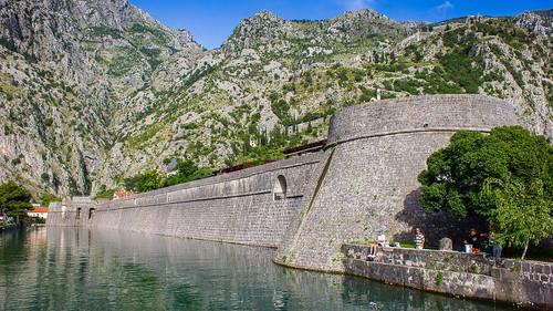 montenegro castle fortress mountain landscape