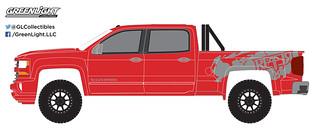 GREENLIGHT 35090 F ALL TERRAIN SERIES 6 2018 CHEVROLET SILVERADO 1500 1//64 RED