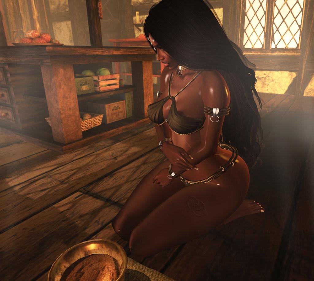 . SL Origins: Kajira Of The Dina Brand .