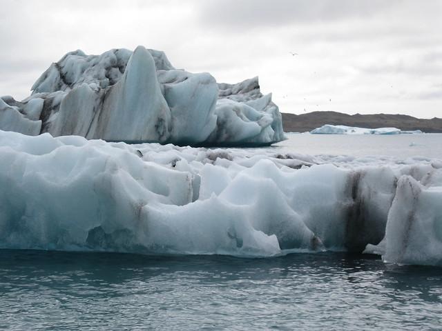 ice in lagoon