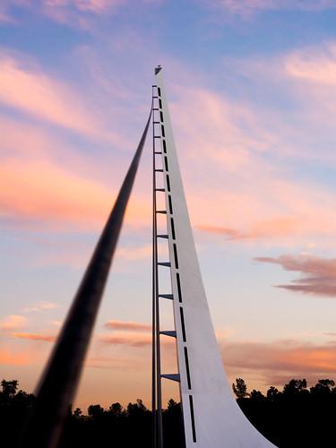 bridge sundial sunrise photowalk