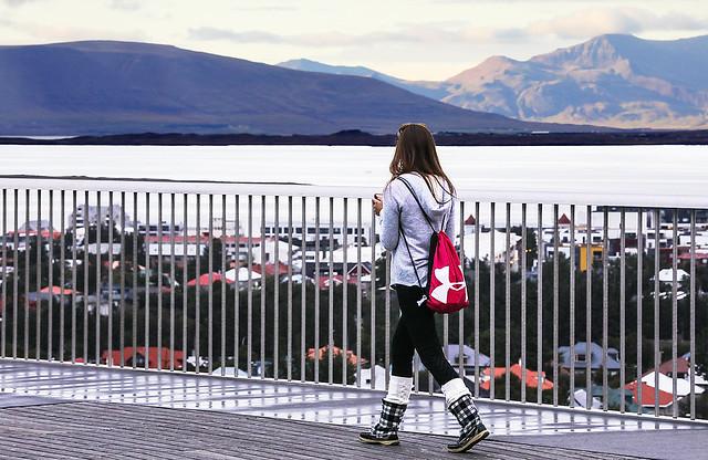 Walking The Observation Deck