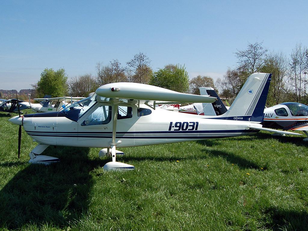 I-9031 Tecnam P92 Echo Super | John Yates | Flickr