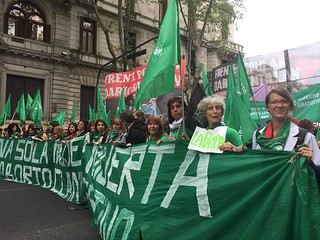 March for Safe Abortion in Argentina | by International Women's Health Coalition