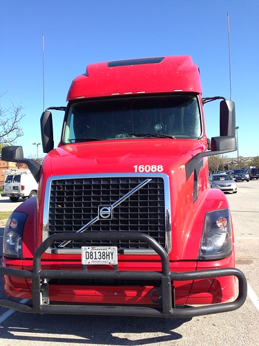 red truck tractor transportation volvo tennessee letsguide