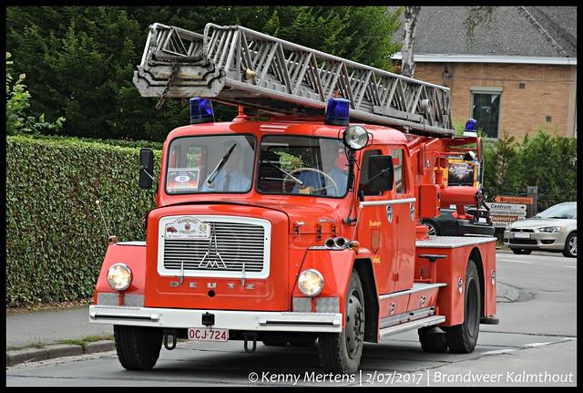 Brandweer Kalmthout - Ladderwagen