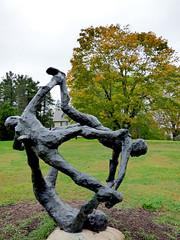 Stockbridge, MA - Rockwell Museum, garden sculpture