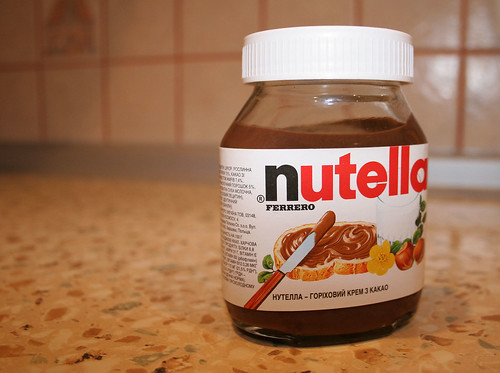 Nutella, breakfast of champions | by sarae